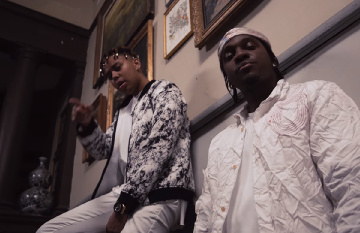 """YBN Cordae and Pusha-T Takeover a Haunted Mansion in """"Nightmares Are Real"""" Video"""
