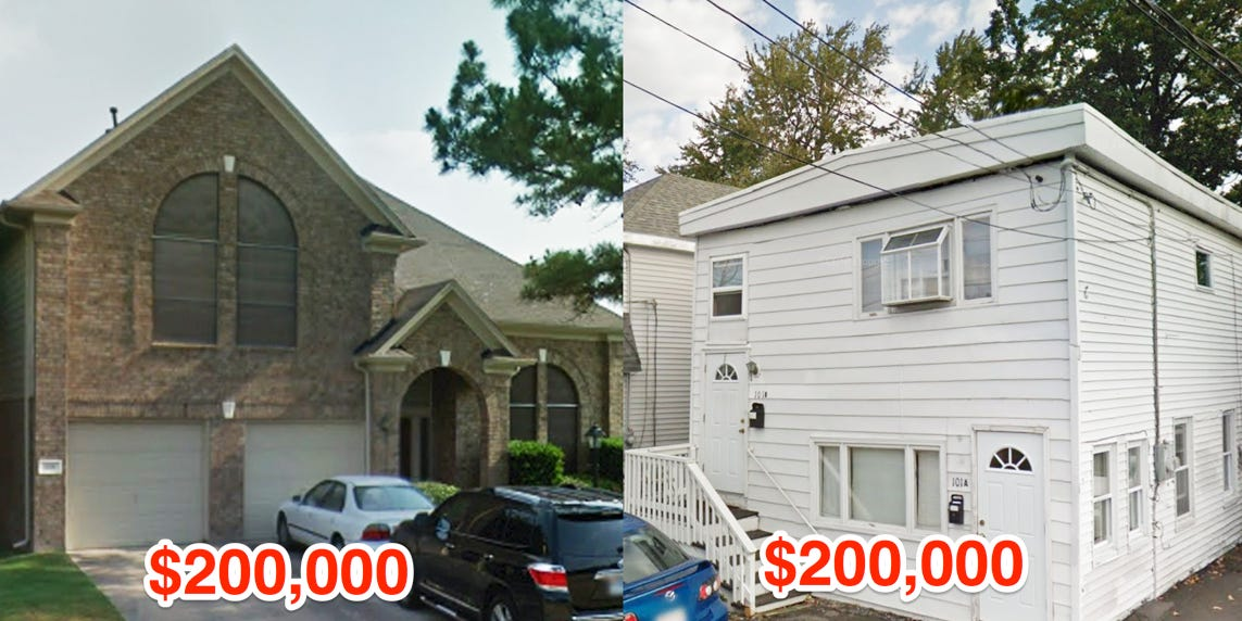Heres what $200,000 will get you in real estate in 20 US cities
