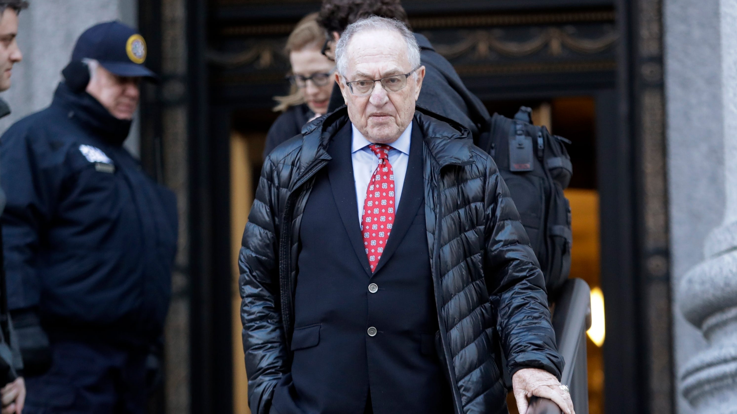 Alan Dershowitz talks ties to Jeffrey Epstein after clashing with Whoopi Goldberg on The View