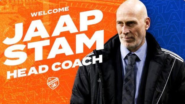 Welcome, erm, Jaap Stam? – FC Cincinnati use wrong photo in new manager tweet