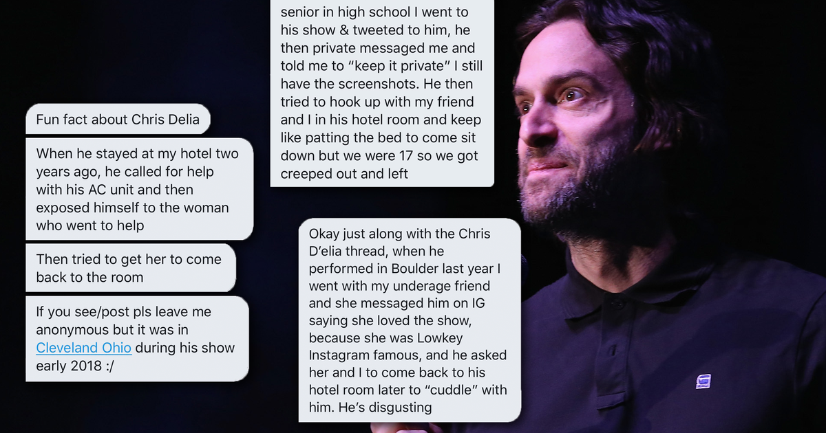 Chris DElia and the rise of Twitter as a platform to call out sexual predators
