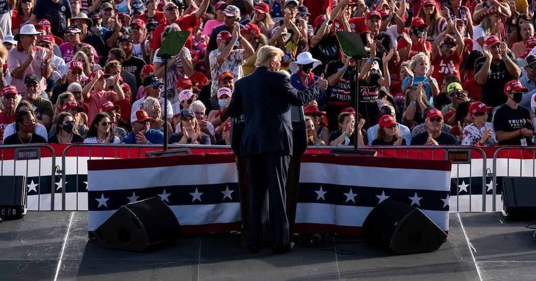 Trump to Travel to 3 States as Biden Focuses on Pennsylvania