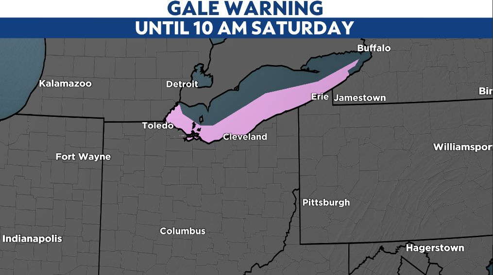 Lake Erie shoreline flooded, police conduct water rescue in Put-in-Bay