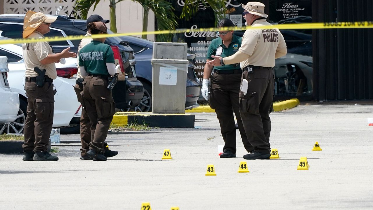 $100,000 reward to find 3 shooters who killed 2, injured more than 20 outside a Miami banquet hall