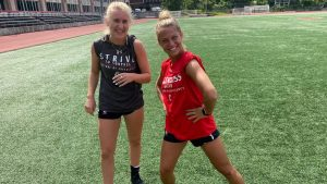 Soccer player honors friend, teammate by wearing her number