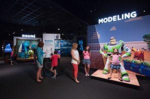 New Cincinnati Museum Center exhibit shows science behind beloved Pixar movies