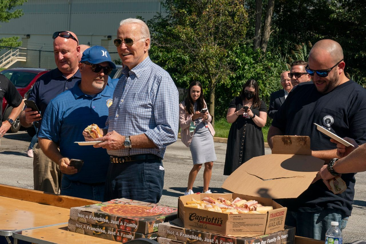 Biden celebrates Labor Day with union workers in Delaware